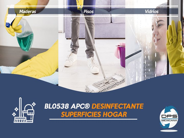 APC DESINFECTANTE SUPERFICIES HOGAR